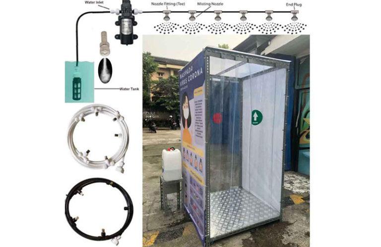 Cabina de Esterilización Desinfectante Nebulizador en oferta