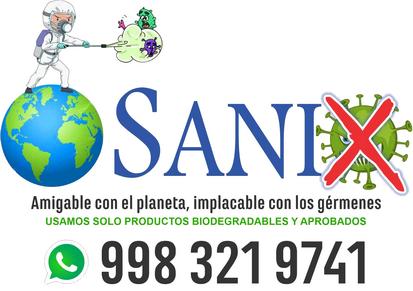 Sanix empresa especializada en sanitizacion y desinfeccion en cancun